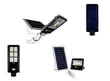 Вуличне освітлення на сонячних батареях