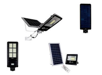 Уличное освещение на солнечных батареях