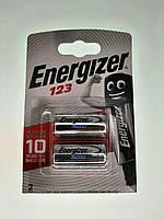 Батарейка Energizer CR123. Литиевая