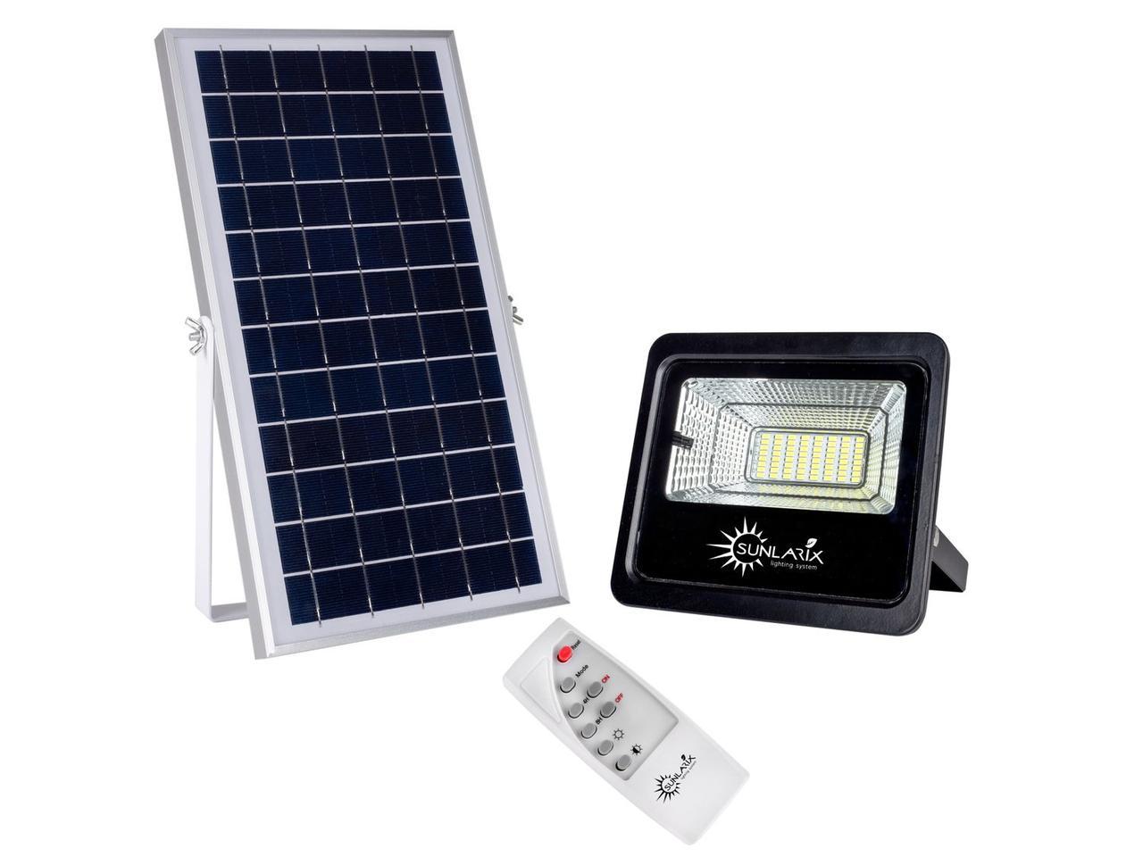 Прожектор на солнечной батарее 25W