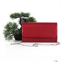 Маленька сумочка клатч штучна шкіра червоний Арт.509(85-9) Туреччина