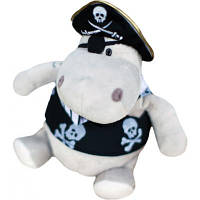 Мягкая игрушка ORANGE Бегемот пират, 30 см, orange (OX013/20)