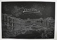 Скретч картина ночной Венеции