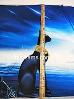 """Стрейч кулір принт """"Сфінкс"""" купон 80х180см. (діджитал), фото 1"""