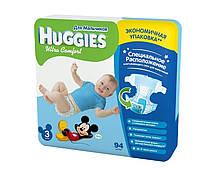Подгузники Huggies Ultra Comfort для мальчиков 3, 5-9 кг, 94 шт. (5029053543659)