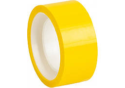 Лента клейкая канцелярская декоративная 18 мм x 10 м Optima, желтая