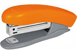 Степлер №10 Economix, до 16 л., пласт. корпус, оранжевый