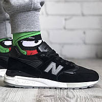 Кросівки чоловічі New Balance 998 NJ Black, чорні. Розміри (41,43,44)