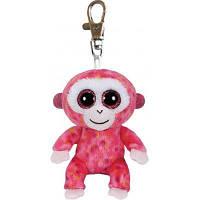 Мягкая игрушка Ty Розовая обезьяна Ruby, 12 см (36603)