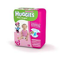 Подгузники Huggies Ultra Comfort для девочек 4, 8-14 кг, 19 шт. (5029053543567)