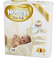 Подгузники Huggies Elite Soft Newborn 2 (4-7 кг), 88 шт. (5029053533810)
