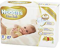 Подгузники Huggies Elite Soft Newborn 2 (4-7 кг), 27 шт. (5029053545486)