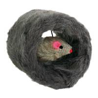 Мишка в хутряному валику Trixie 8см