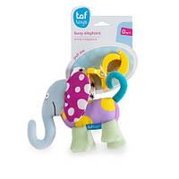 Игрушка-подвеска на прищепке Taf Toys Дрожащий слоник (11755)