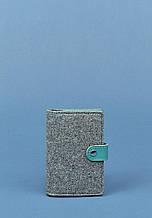 Обложка для паспорта BlankNote 3.0 Серый BN-OP-3-felt-tiffany, КОД: 384348