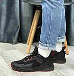 Кроссовки BaaS 7090-1 М 579249 Черные, фото 2