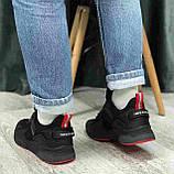 Кроссовки BaaS 7090-1 М 579249 Черные, фото 3