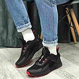 Кроссовки BaaS 7090-1 М 579249 Черные, фото 4