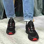 Кроссовки BaaS 7090-1 М 579249 Черные, фото 5
