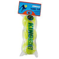 Мяч теннис King-Becket, пакет 3шт SKL83-291801