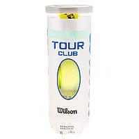 Мяч теннисный Wilson Tour Club 3шт SKL83-291799