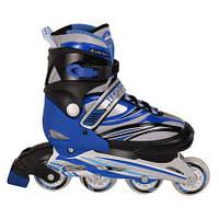 Роликовые коньки Teku размер 30-33 синие SKL11-289692