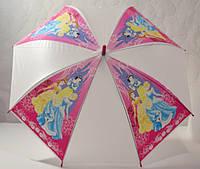 Зонт детский  малиновый, белоснежка и золушка 33_2_49a1
