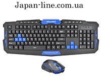 Профессиональная беспроводная игровая клавиатура с мышкой Atlanfa AT-8100