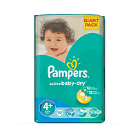 Подгузники Pampers Active Baby-Dry Maxi Plus 9-16 кг, 70 шт. (1228169)