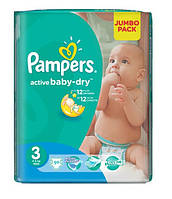 Подгузники Pampers Active Baby-Dry Midi 4-9 кг, 90 шт. (1228167)