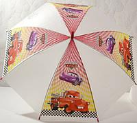 Зонт детский  красный, маквин тачки, 33_2_49a4
