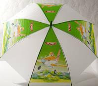 Зонт детский  зеленый, вертолет, 33_2_49a5