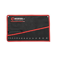 Чохол для гайкових ключів 15 кишень INTERTOOL BX-9015