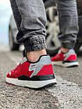 Кроссовки мужские 17297, Adidas Nite Jogger Boost 3M красны, [ 41 42 43 44 45 ] р. 41-25,2см., фото 4