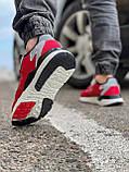 Кроссовки мужские 17297, Adidas Nite Jogger Boost 3M красны, [ 41 42 43 44 45 ] р. 41-25,2см., фото 5