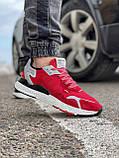 Кроссовки мужские 17297, Adidas Nite Jogger Boost 3M красны, [ 41 42 43 44 45 ] р. 41-25,2см., фото 6