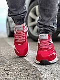 Кроссовки мужские 17297, Adidas Nite Jogger Boost 3M красны, [ 41 42 43 44 45 ] р. 41-25,2см., фото 7