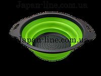 Дуршлаг силиконовый складной Collapsible filter baskets JM-606
