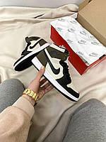 Жіночі кросівки Nike Air Jordan Retro High Dark Mocha, фото 1