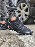 Кросівки чоловічі 18173, Salomon Speedcross 3, чорні, [ 41 42 43 44 45 ] р. 42-26,2 див., фото 6