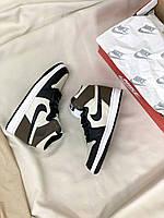 Чоловічі кросівки Nike Air Jordan Retro High Dark Mocha