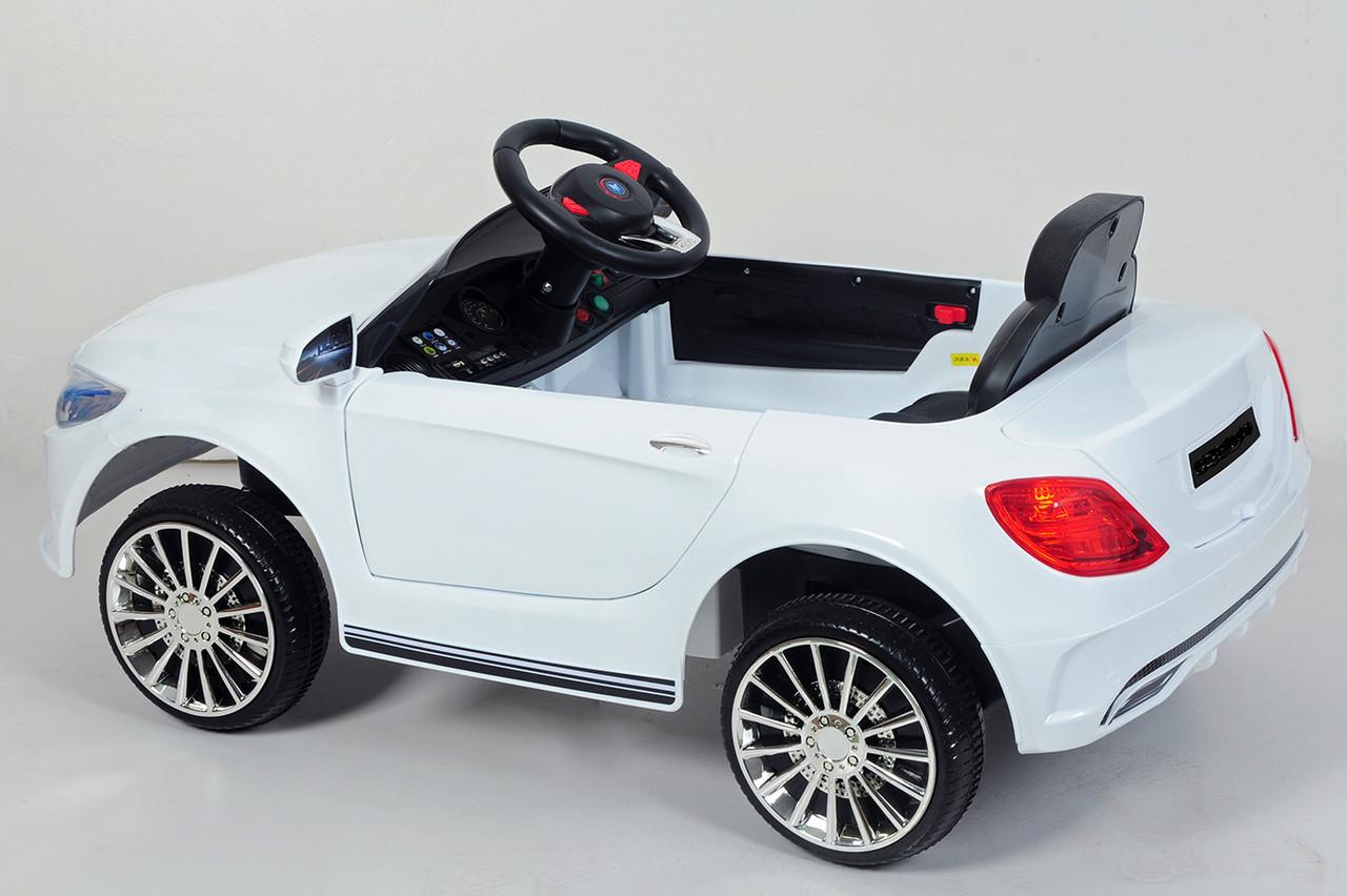 Ел-мобіль T-7620 EVA WHITE легковий на Bluetooth 2.4G Р/У 12V4.5AH мотор 2*25W з MP3 100*52*42 /1/