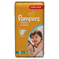 Подгузники Pampers Sleep & Play Junior 11-18 кг, 58 шт. (1228292)