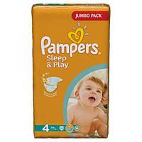 Подгузники Pampers Sleep & Play Maxi 7-14 кг, 68 шт. (1228309)