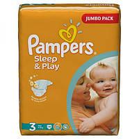 Подгузники Pampers Sleep & Play Midi 4-9 кг, 78 шт. (1228258)