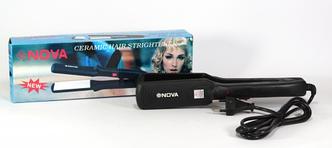 Керамический утюжок для выпрямления волос Nova NHC-522 CRM (Нова)