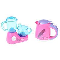 Игровой набор Na-Na с детским чайником и соковыжималкой IE345