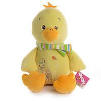 Мягкая игрушка Na-Na Утенок с шарфиком 30 см IF61