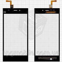 Touchscreen (сенсорный экран) для Xiaomi Mi3, черный, оригинал