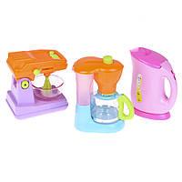 Детский кухонный набор Na-Na с миксером, чайником и кофеваркой IE323